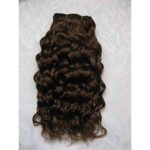 Human Made Hair Brazilian Virgin Weave Weaving Weft Curly 57
