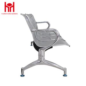 High Quality 4 Seater Airport Public Area Steel Waiting Chair pictures & photos