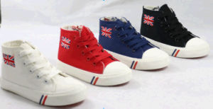 Children Canvas Shoes Running Shoes pictures & photos