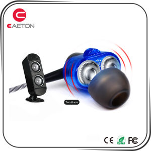 Stereo Sports Earbuds Metal Case Earphones with Noise Cancelling