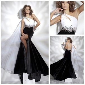 Black And White Evening Dresses - Dress Xy