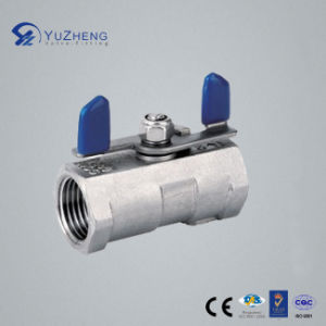 Stainless Steel 1PC Ball Valve with Wing Handle pictures & photos