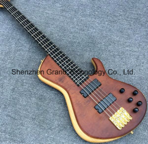 5 Strings Bass with Ebony Fingerboard and Elm Body (GB-50) pictures & photos