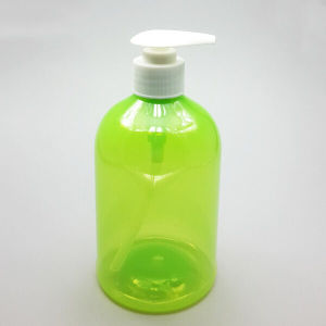Transparent Plastic Pump Bottle (NB196) pictures & photos
