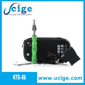 Colorful E Cigarette, X6 Ecig with X8 Atomizer 1300mAh with Variable Voltage