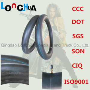 Natural Rubber and Butyl Rubber Motorcycle Inner Tube (300-17) pictures & photos