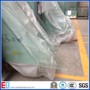 Clear Tempered/Toughened/Safety Glass with CCC Certification pictures & photos