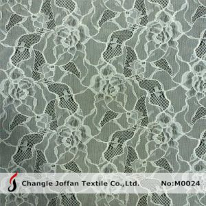 Elastic Floral Lace Fabric for Underwear (M0024) pictures & photos