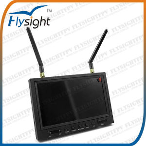 RC801 5.8GHz 7inch LCD Monitor Built in Diversity Rx for Dji Phantom RC Airplane Helicopter Multicopter