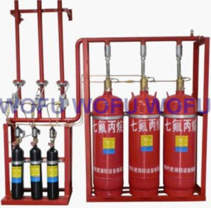 Hfc-227ea Clean Agent Fire Suppression System pictures & photos