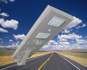 High Quality Factory Price 30W All in One Solar Oudtdoor Light Solar Street Light pictures & photos