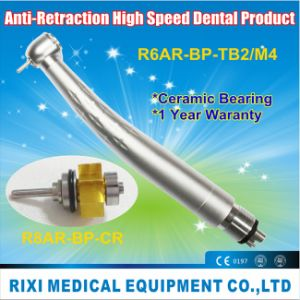 Anti-Retraction Torque Push-Button High Speed Dental Product