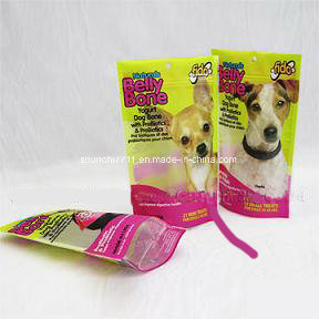 Punching Printing Compound Pet Food Bag pictures & photos