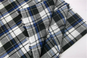 2016 Fashion Check Design Wholesale Yarn Dyed Fabric