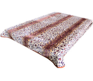 Hot Sale 100% Polyester Raschel Blanket Sr-B170305-17 Soft Printed Mink Blanket pictures & photos