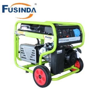 Ce Certificate High Quality 6kw Gasoline Generator Price FC7500e for Home Use pictures & photos