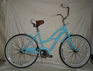 Lady Bikes Women Beach Cruiser Bicycles (FP-BCB-C006) pictures & photos