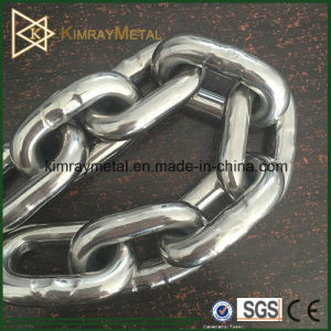 304 and 316 Stainless Steel Link Chain pictures & photos