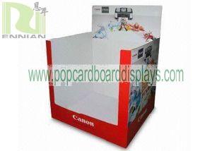 Cardboard Dump Bin for Printing Machine Supermarket Shelf (ENCA003)