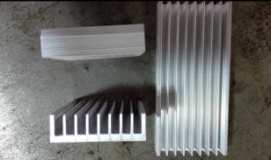 60mm Width Aluminum Profile Heat Sink 60mm*18mm*100mm Length Can Custom-Made pictures & photos