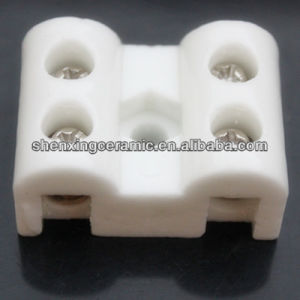 Amphenol Connector 3 Way 2 Wires Electric Steatite Ceramic Connector