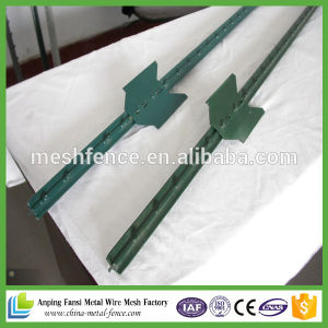 High Quality Wholesale Metal Studded T Post 6FT 1.25lb/FT pictures & photos