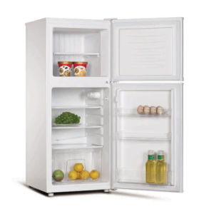 126 Liters Double Door Fridge and Freezer pictures & photos