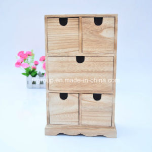 Retro Customized Design Home Display Cabinet Wood Cupboard with Compartments pictures & photos