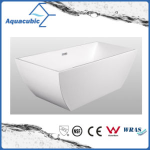 Bathroom Pure Acrylic Seamless Freestanding Bathtub (AB6503) pictures & photos