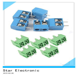 5mm Pitch 2 Pole PCB Mount Screw Terminal Block 8A 250V pictures & photos