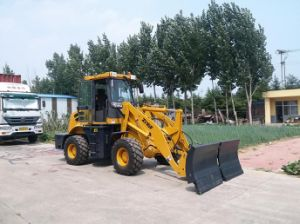 MP160 1.6ton Compact Hydraulic Wheel Loader with Joystick and Quick Change Optional pictures & photos