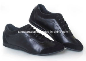 Newest Style Genuine Leather Fashion Casual Shoes (HLC54)