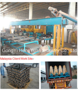 Low Cost Biomass Wood Briquetting Machine pictures & photos