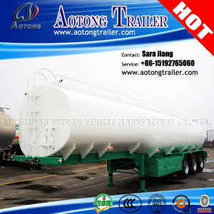 40, 000L 3 Axles Fuel/Oil Tanker Semi Truck Trailer pictures & photos