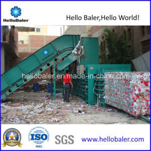 Horizontal Semi-Automatic Waste Paper Compactor pictures & photos