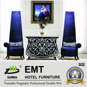 Elegant Hotel Furniture Lobby Furniture Set (EMT-CA01) pictures & photos