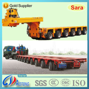 Multi-Axis Hydraulic Modular Semi Trailer (LAT9545TDP) pictures & photos