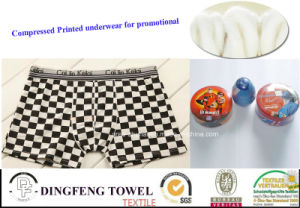 Fashion Compressed Traveling Printed Boxer Underwear Df-2022 pictures & photos