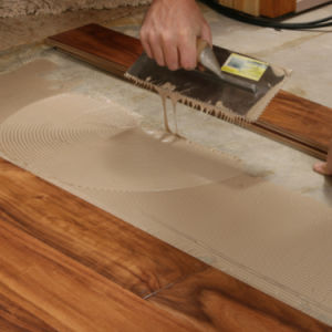 Easy Flowing Wood Flooring PU (polyurethane) Adhesive (Surtek 3546) pictures & photos