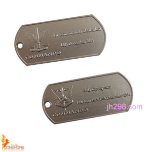 Stainless Steel Dog Tag Custom Military Dog Tag Manufacturer pictures & photos