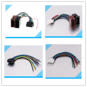 16 Pin to ISO Lead Wiring Loom Power Adaptor Wire Radio Connector Harness pictures & photos