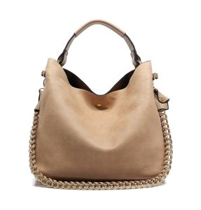 2016 Spring Summer Chain Decorate Designer Leather Handbags (LDO-15809) pictures & photos