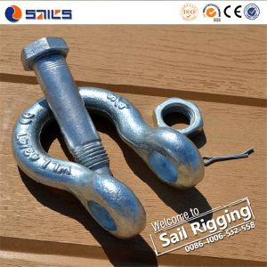 G2130 Us Type Carbon Steel Drop Forged Shackle pictures & photos