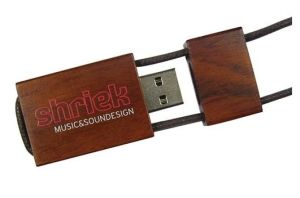 Wooden Maple Lanyard USB Pen Drive USB Flash Drive (UW01) pictures & photos