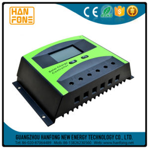 30A LCD 12V/24V 360W/720W PWM Solar Panel Adapter Charge Controller pictures & photos