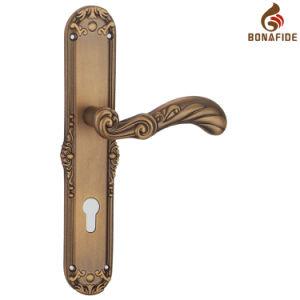 High Quality Full Zinc Door Lock Handle-052 pictures & photos