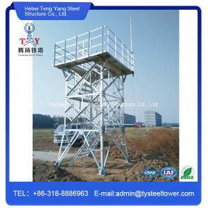 Self Supporting Guard Observation Lattice Steel Watch Tower pictures & photos