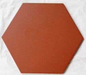 350*350*13mm Non-Slip Red Paving Tile