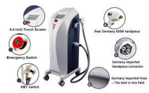 Medical Diode Laser Hair Removal Machine 808 Nm Diode Laser Depilator pictures & photos