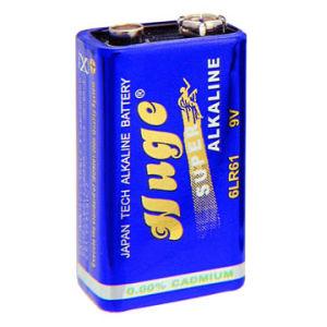 19V 1PCS Blsiter Pack Super Alkaline Battery 6lr61 pictures & photos